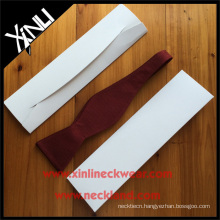 Custom White Envelope Paper Bow Tie Box Wholesale